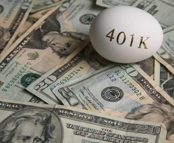 Can you take your share of a 401k now?