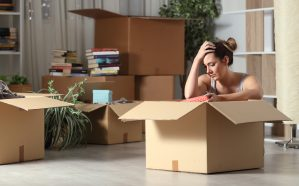 Moving into a new home due to divorce