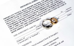 What makes a prenuptial agreement invalid in Illinois?