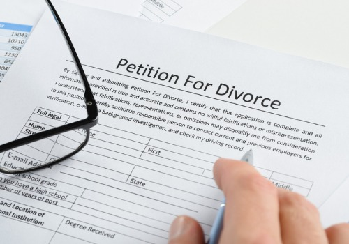 A petition for divorce supplied by Divorce Lawyers in Eureka IL