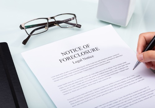 Legal Notice of Foreclosure which Essig Law, a Real Estate Lawyer in Eureka, IL can help with