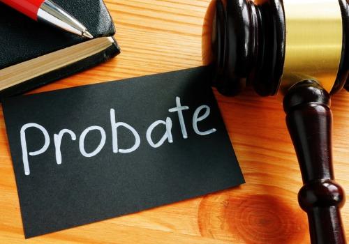 Desk of a Probate Attorney in Eureka IL