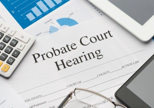 Paperwork from a Probate Attorney in Pekin IL