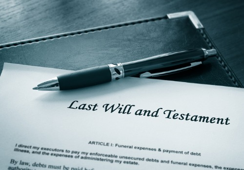 A last will, as a part of Probate Law in Morton IL