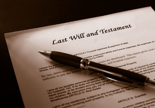 A last will that is used in Probate Law in Pekin IL