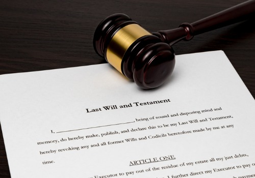 Documents for a last will provided by Estate Planning Attorneys in Washington IL