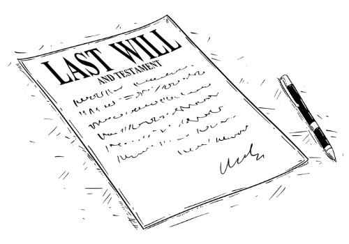 An illustration of a last will, provided by Estate Planning Attorneys in Eureka IL